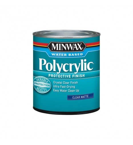 Лак - Minwax® Polycrylic™ Protective Finish, 237 мл
