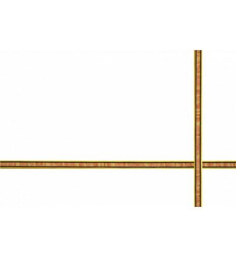 Шпон для инкрустации (маркетри), 8 мм, 1 м.пог