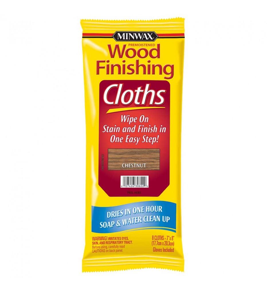 Салфетки - лакоморилка  - Minwax® Wood Finishing Cloths