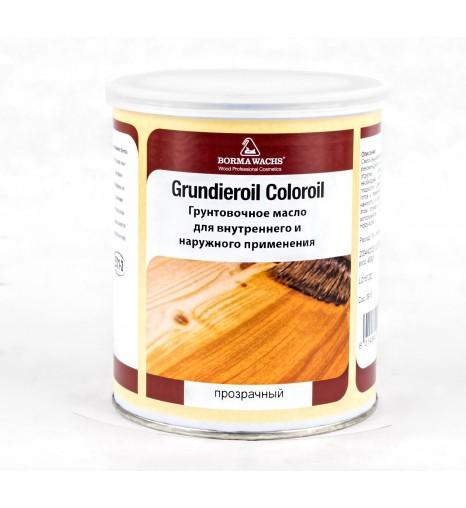 Масло для паркета Grundieroil (масло – грунт), прозрачное, 1000 мл