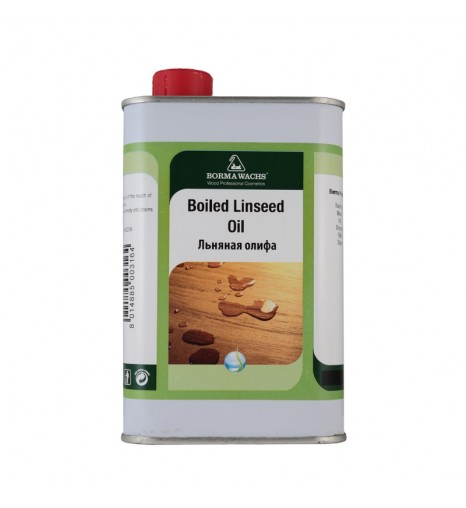Масло льняное Borma Linseed Boiled Oil, 500мл