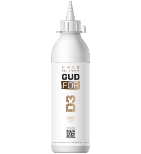 Клей ПВА столяра GUDFOR D3, 450 гр