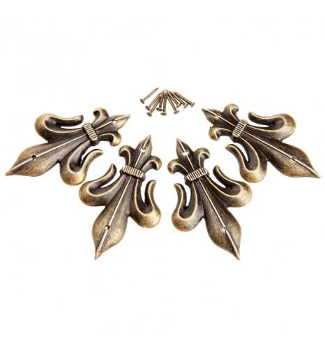 Накладка декоративная Лилия 45*28 мм
