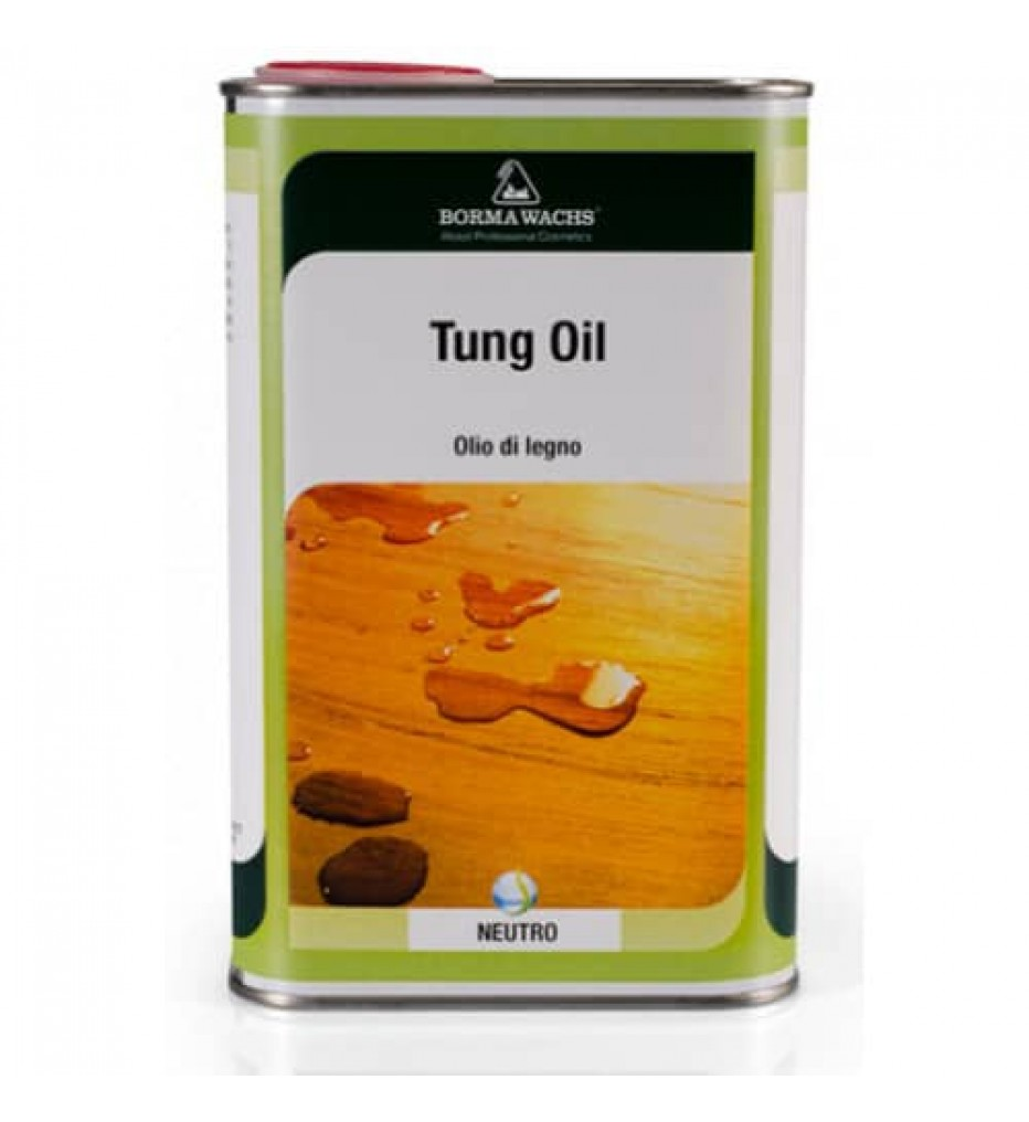 Масло тунговое -Масло тунговое Borma Tung Oil, 500 мл