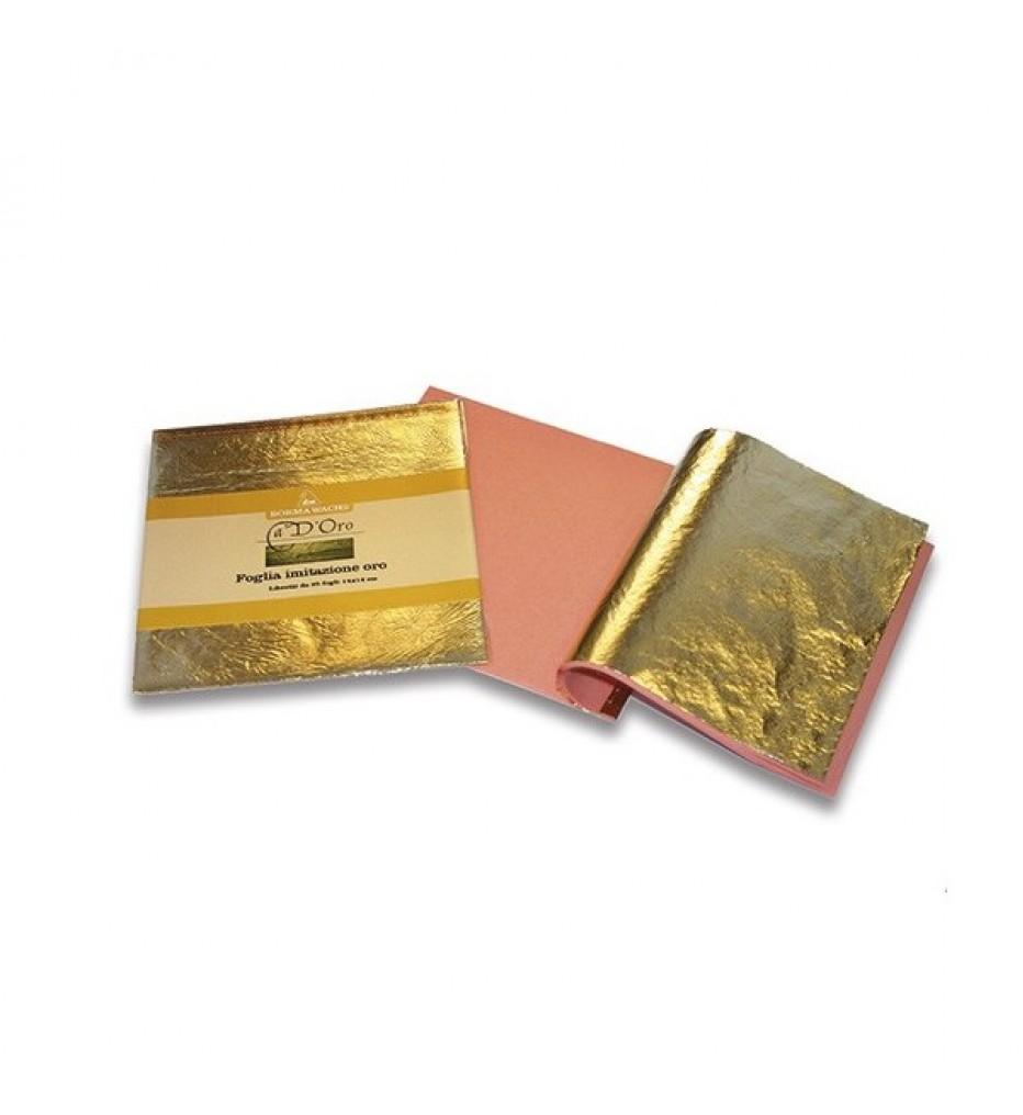 Поталь Серебро, BORMA, 14х14 см, книжка 25 листов