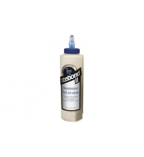 Клей TITEBOND II Transparent Premium Wood Glue прозрачный влагостойкий 473 мл