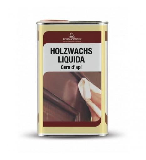 Воск пчелиный жидкий Holzwachs Liquida, прозрачный, 250 мл